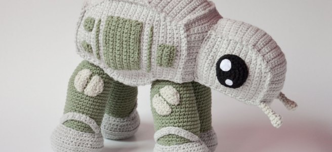 AT-AT crocheting patterns for babies by Kamila Krawczyk